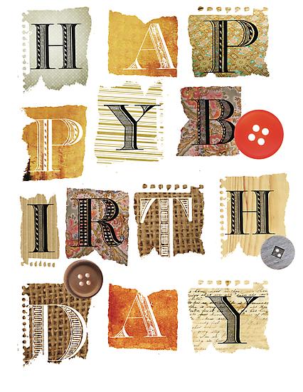 happy birthday by Narelle Craven