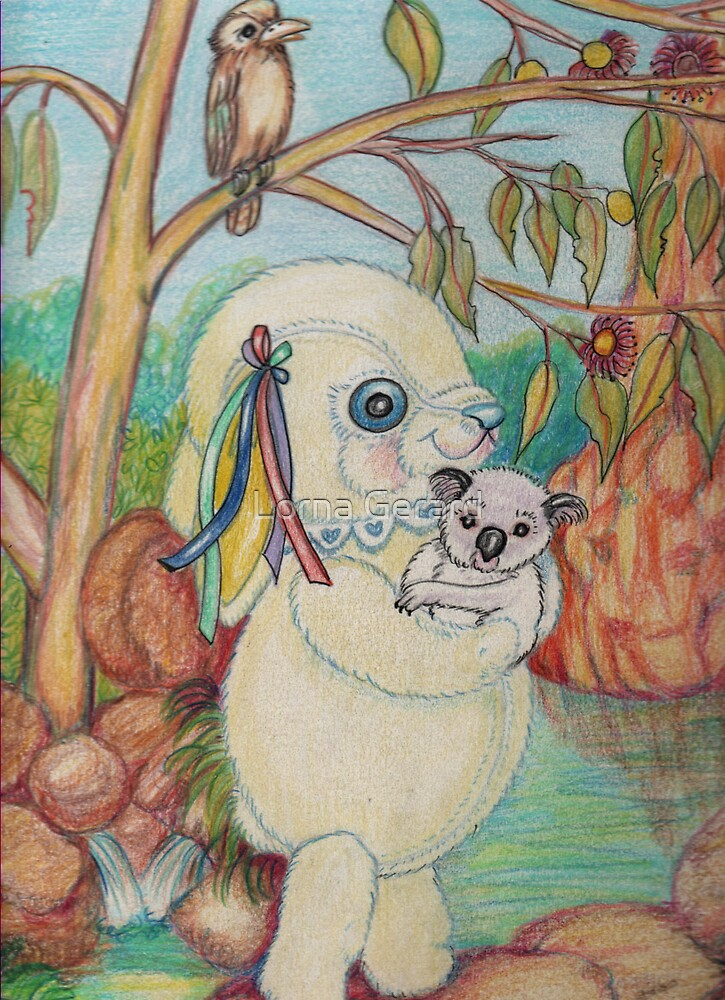 Pooky visits South Australia by Lorna Gerard