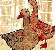 duck duck, goose by Narelle Craven