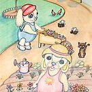 Nana and Poppy Pooky love to Garden by Lorna Gerard