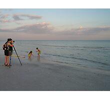 Keen photographer--Sanibel Island, Florida Photographic Print