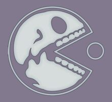 Pacman - Skull - Funny Kids Clothes