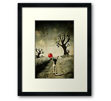 Entering Seussville Framed Print