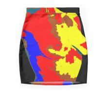 Abstract woman Mini Skirt