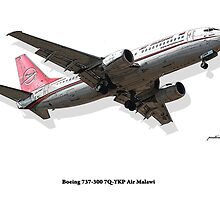 Rendition - Air Malawi B737 by Paul Lindenberg