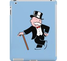 Rich uncle pennybags 3 Funny Geek Nerd iPad Case/Skin