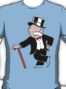 Rich uncle pennybags 3 Funny Geek Nerd T-Shirt