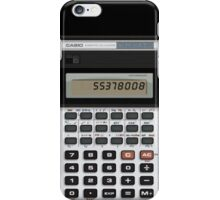 Awesome Fake Vintage calculator iPhone Case/Skin