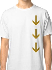 Arrows Down Classic T-Shirt
