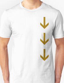 Arrows Down Unisex T-Shirt