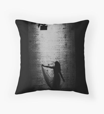 Suspended in Gaffa Throw Pillow