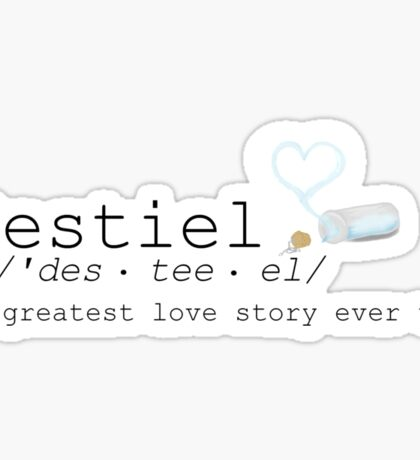 Define: Destiel Sticker