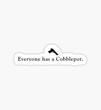 Everyone has a Cobblepot. Sticker