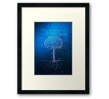 Endless Trees Framed Print