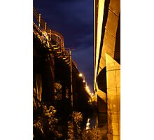 Echuca at night 4 Photographic Print