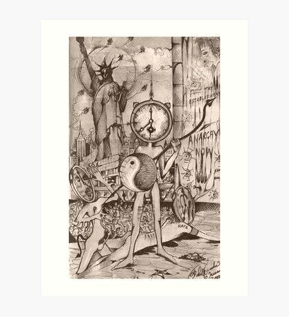 Dead on Time ( 2000 ) Art Print