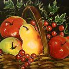 Basket of Fruit by Cathy Amendola