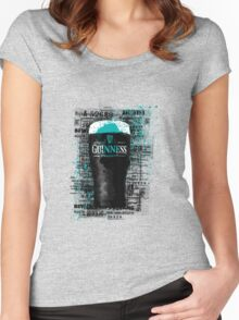Beer mark Women's Fitted Scoop T-Shirt