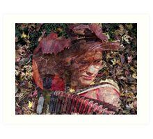 Fallen Woman Art Print