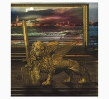 Golden Lion from alternative earth by sattva