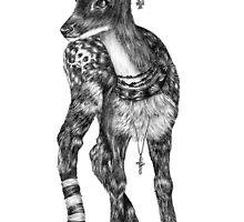 Fancy Animals: Deer by MonsterTeacup
