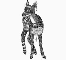 Fancy Animals: Deer Unisex T-Shirt