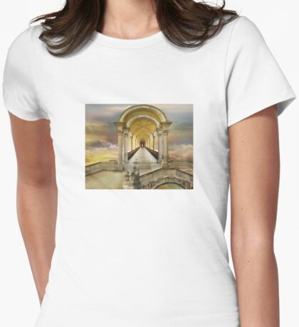Soaring in heavens Womens Fitted T-Shirt
