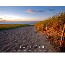 2013 Cape Cod Poster Photographic Print