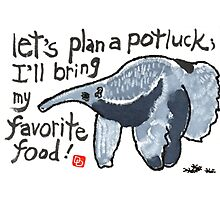 Potluck Party (Anteater) Photographic Print