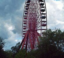 Abandoned ferris wheel in Germany by rj-knox