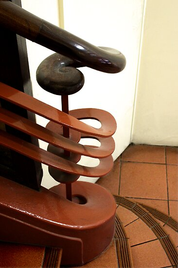 Art Deco Balustrade by Christopher Biggs
