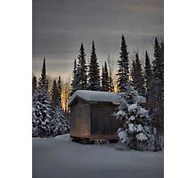 Winter Solitude Photographic Print