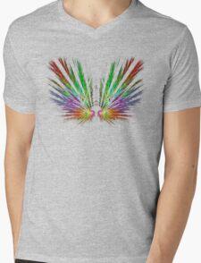 'Angel Wings' Mens V-Neck T-Shirt