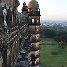 At Gol Gumbaz, Bijapur by Indrani Ghose