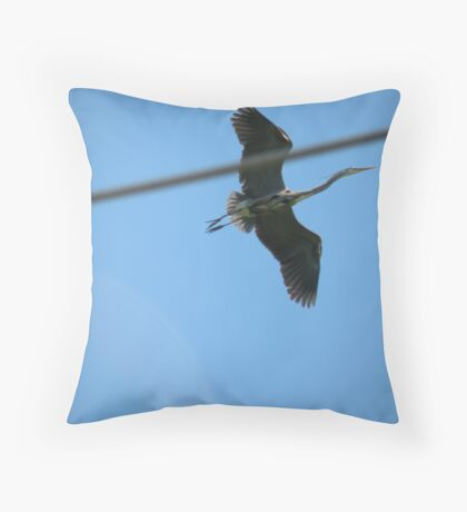 line of flight... Throw Pillow
