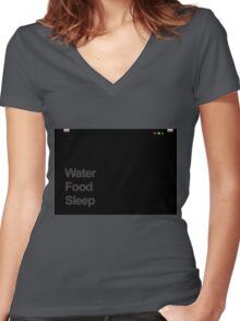 ReCharge 2 Women's Fitted V-Neck T-Shirt