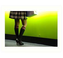 knee high socks Art Print