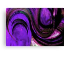 """PURPLE """"TOMATO TAM OTTO"""" Canvas Print"""