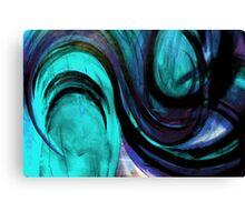"""BLUE """"TOMATO TAM OTTO"""" Canvas Print"""