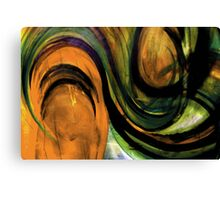 "ORANGE ""TOMATO TAM OTTO"" Canvas Print"