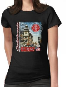 chinatown in san francisco Womens Fitted T-Shirt