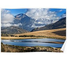 Southern Alps and lake #1 Poster