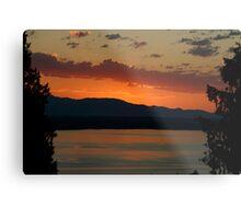 Sunset in Shoreline, Washington Metal Print