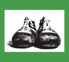 retro footballshoes Kids Tee