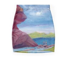 Crossing The River Pencil Skirt