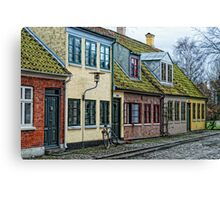 Odense Houses Canvas Print