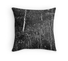 trees and plants royd wood Throw Pillow