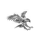 Bird of Prey - TribalTattoo \ black edit by scatharis