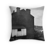 terrace varley road slaithwaite yorkshire Throw Pillow