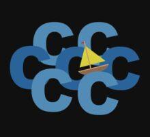 Sail the Seven C's Funny Geek Nerd T-Shirt